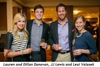 1 - Lauren and Dillon Donovan, JJ Lewis and Lexi Valasek