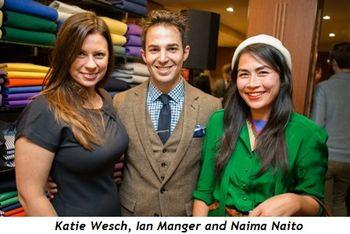 3 - Katie Wesch, Ian Manger and Naima Naito