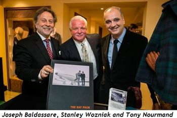 4 - Joseph Baldassare, Stanley Wozniak and Tony Nourmand