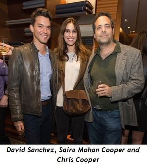 2 - David Sanchez, Saira Mohan Cooper and Chris Cooper