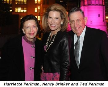 1 - Harriette Perlman, Nancy Brinker, Ted Perlman