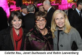 3 - Colette Rau, Janet Duchossois, Robin Loewenberg