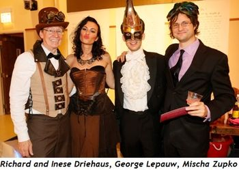 1 - Richard and Inese Driehaus, George Lepauw and Mischa Zupko