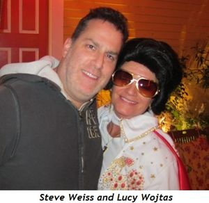 Steve Weiss and Lucy Wojtas