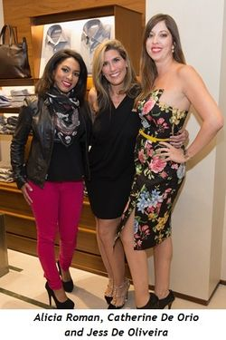 4 - Alicia Roman, Catherine De Orio and Jess De Oliveira