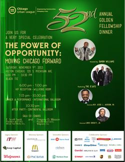 Urban League Nov. 9