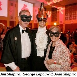 7 - Jim Shapiro, George Lepauw and Joan Shapiro