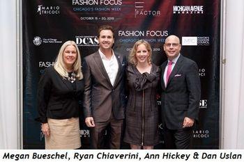1 - Megan Bueschel, Ryan Chiaverini, Ann Hickey, Dan Uslan