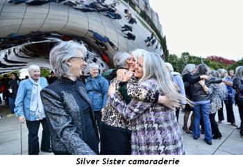 2 - Silver Sister camaraderie