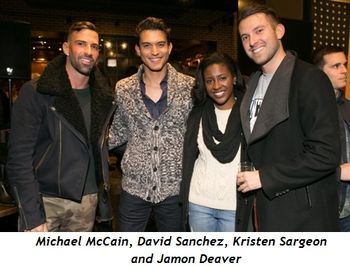 1 - Michael McCain, David Sanchez, Kristen Sargeon and Jamon Deaver