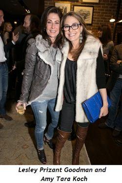 2 - Lesley Prizant Goodman and Amy Tara Koch