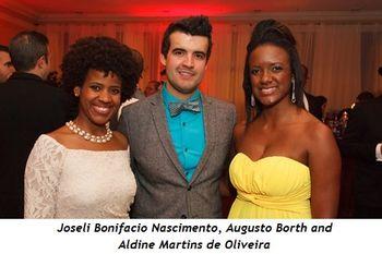 9 - Joseli Bonifacio Nascimento, Augusto Borth and Aldine Martins de Oliveira