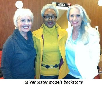 9 - Silver Sister models backstage