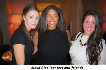 8 - Alexa Rice (center) and friends