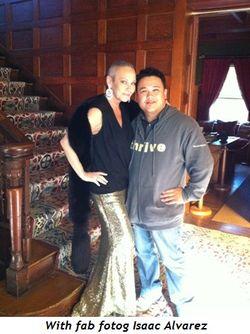 With fab fotog Isaac Alvarez