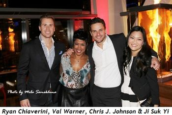 3 - Ryan Chiaverini, Val Warner, Stuart Townsend and Ji Suk Yi