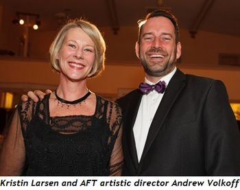 8 - Kristin Larsen and AFT Artistic Director Andrew Volkoff