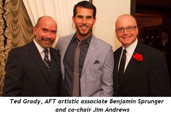 10 - Ted Grady, AFT Artistic Associate Benjamin Sprunger and co-chair Jim Andrews