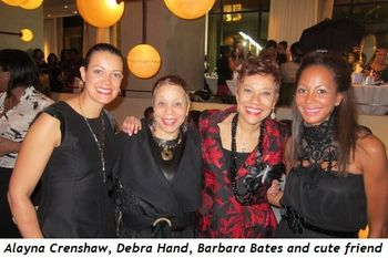 Alayna Crenshaw, Debra Hand, Barbara Bates and cute friend