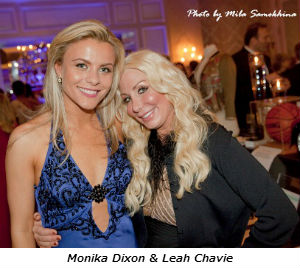 Monika Dixon and Leah Chavie