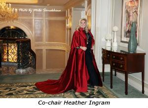 Co-chair Heather Ingram