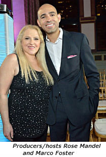 Producers_hosts Rose Mandel and Marco Foster