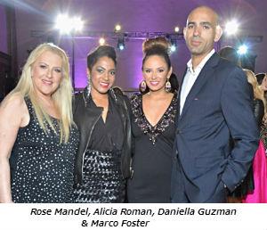Rose Mandel, Alicia Roman, Daniella Guzman and Marco Foster