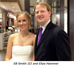 EB Smith III and Eliza Hammel