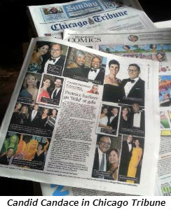 Candid Candace in Chicago Tribune