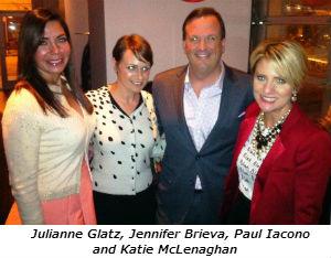Julianne Glatz Jennifer Brieva Paul Iacono and Katie McLenaghan