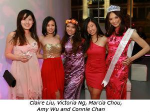 Claire Liu Victoria Ng Marcia Chou Amy Wu & Connie Chan