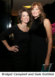 Bridget Campbell and Gale Gottlieb