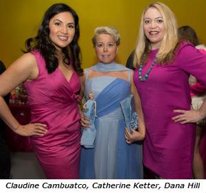 Claudine Cambuatco Catherine Ketter Dana Hill