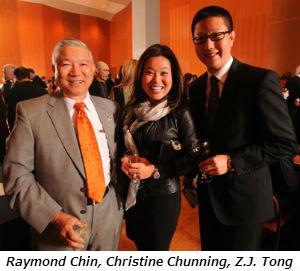 Raymond Chin Christine Chunning ZJ Tong