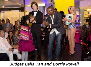 Bella Tan & Borris Powell - the Barbie Ken competition judges
