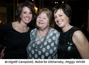Bridgett Campbell Roberta Olshansky Peggy White