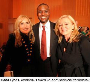 Dana Lyons Alphonsus Olieh Jr and Gabriela Caramalau