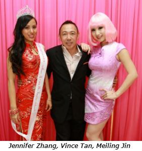 Jennifer Zhang Vince Tan Meiling Jin