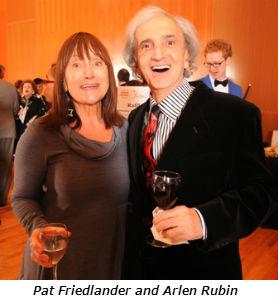 Pat Friedlander and Arlen Rubin