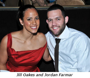 Jill Oakes and Jordan Farmar