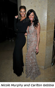 Nicole Murphy and Carlton Gebbia