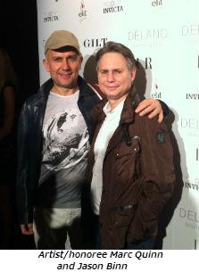 Marc Quinn and Jason Binn