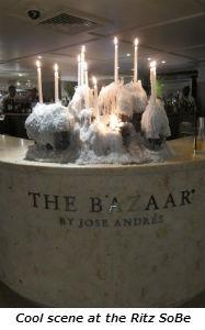 Cool scene at the Ritz SoBe