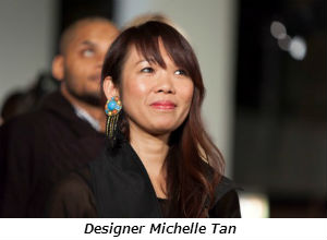 Designer Michelle Tan