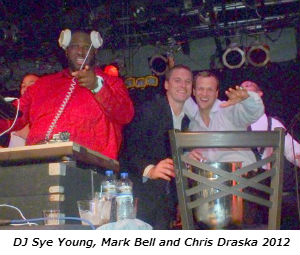 DJ Sye Young Mark Bell and Chris Draska 2012