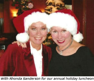 Rhonda and me Christmas pic