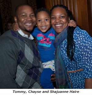 Tommy Chayse and Shajuanne Haire