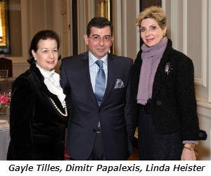Gayle Tilles Dimitr Papalexis Linda Heister