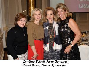 Cynthia Scholl Jane Gardner Carol Prins Diane Sprenger