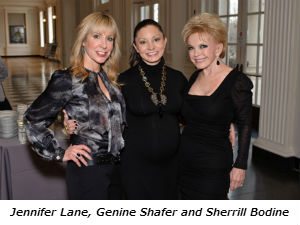 Jennifer Lane Genine Shafer and Sherrill Bodine